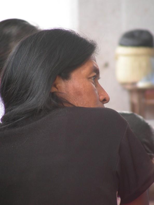 mujer Santa Rosa